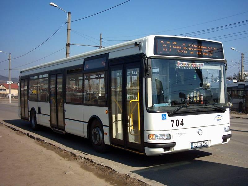 Un autobuz mai vechi si anume Irisbus Agora Irisbus Agora